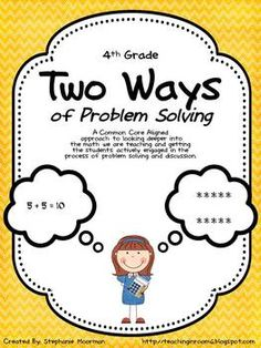 Ways to solve problems