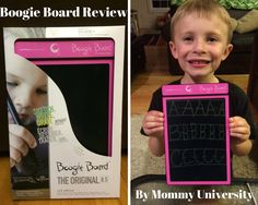 Boogie Board LCD eWriter The Original 8.5 Review review from Mommy University at www.mommyuniversitynj.com #mommyunj