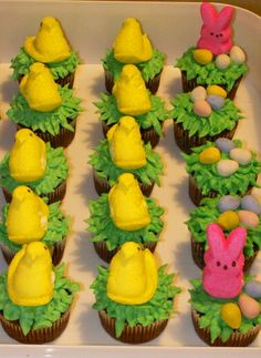 Bunny & Duck Easter Cupcakes and 25 Cutest Easter Cupcakes
