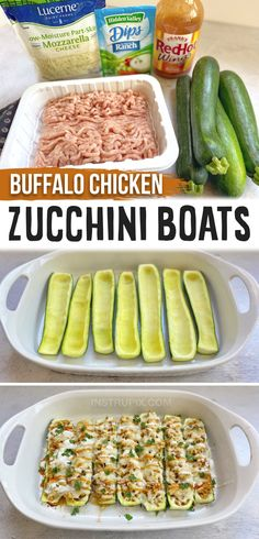 Chicken And Veggie Recipes, Zuchinni Recipes, Healthy Dinner With Chicken, Zucchini Dinner Recipes, Low Carb Dinner Recipes, Healthy Recipes, Keto Dinner, Simple Cooking Recipes, Simple Healthy Dinner Recipes