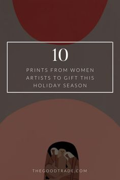 Artwork from these artists makes for a meaningful, unique gift and it supports talented creatives in a tangible way. Host Gifts, Best Trade, Love Languages, Local Artists, Adulting, Special Gifts, Gifts For Women, Holiday Gifts, Gift Guide