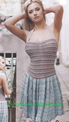 ВСЕ СВЯЗАНО. ROSOMAHA.: Летнее платье из хлопка или льна. Остатки в дело!