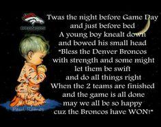 Denver Broncos prayer