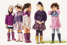I love all of these Fall looks....BENNETTON Kids...Online shopping available FALL 2013!!!!!!!!!!!