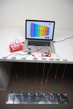 Makey Makey & Scratch foot xylophone