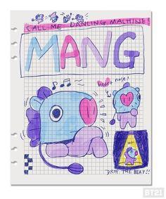 Mang x hobi Bts Chibi, Bts Drawings, Line Friends, Bts Fans, Leprechaun, Bts Bangtan Boy, Bts Wallpaper, Journal Inspiration, Bts Memes