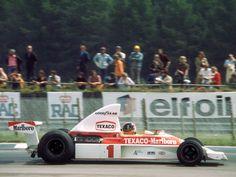 1975 Emerson Fittipaldi McLaren M23 Ford Silverstone 1975