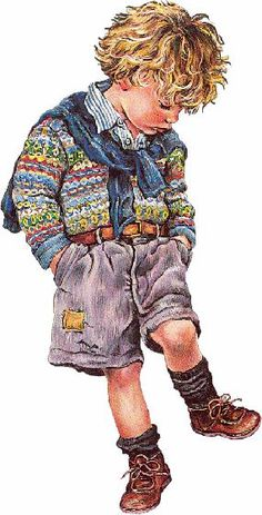 Christine Haworth - click this image for first group of related pins of children in arr