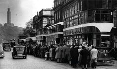 Edinburgh old tram