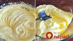 Nejlahodnejší domáci vanilkový krém do všetkých tort a zákuskov: Hotový za 15 minut!