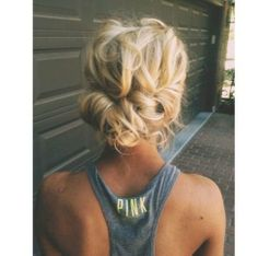 long hair styles for women updo