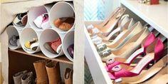 Удобные места для хранения обуви