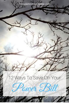 Power is expensive. Discover 12 tips that you can implement right now to help you save on your power bill! Power Bill, Get Out Of Debt, Setting Goals, Ways To Save, Dreaming Of You, Saving Money, Budgeting, How To Get, Cheese