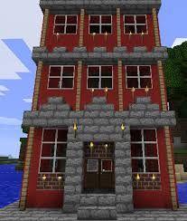 Bilderesultat for minecraft european house