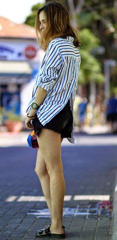 chic, striped, lookoftheday, menswear, ootd, outfit, streetstyle, fashionblog, אופנה, בלוגאופנה