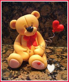 Cute  fondant bear
