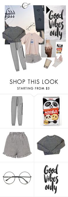 """Remember to take a break !"" by kurarai ❤ liked on Polyvore featuring NIKE, Panda, American Apparel and Retrò"