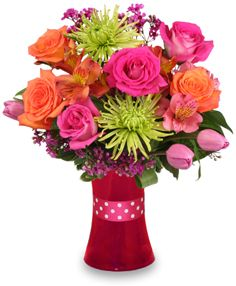 Valentine's Day Flowers from Alpha Floral - your local Santa Barbara, CA Florist & Flower Shop. Order flowers for Valentine's Day directly from Alpha Floral - your local Santa Barbara, CA florist and flower shop to save time and money. Hot Pink Roses, Orange Roses, Pink Tulips, Online Florist, Local Florist, Flower Shop Network, Casket Flowers, Flowers For Valentines Day, Blue White Weddings