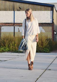 Outfit of the day, Zara, Comptoir des Cotonniers, Aquazurra, Chloé, Baume et…