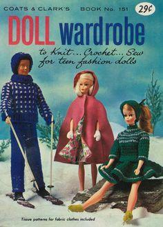 Coats & Clark's Doll Wardrobe (Front) on Flickr - Photo Sharing!