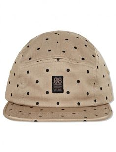 Deluxe Polka Dot Camp Cap #stussydeluxe #menswear #accessories #masterpiece