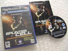 SPLINTER CELL Pandora Tomorrow - PS2 ps3 playstation - ITALIANO - prima stampa