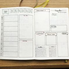 My second week of #bulletjournaling I'm trying @plantosucceed layout. I changed the layout a bit to fit my needs and am loving it! She is pretty amazing with her layouts. . . . #bujo #bulletjournal #bulletjournaljunkies #weeklylayout