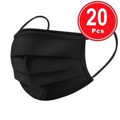 20 Stück einweg Schutzmasken Schwarz – Swiss Vape Vape, Wrap Pattern, Mouth Mask, Sunscreen, Fashion Prints, Bandana, Gender, Kids, Children