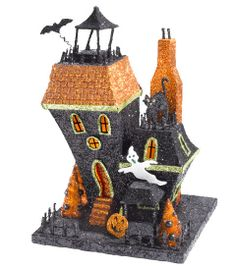 spooky halloween house halloween decoration - Chasing Fireflies