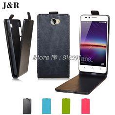 4.5$  Buy here - Huawei Y5 II Case J&R Brand Vertical Phone Bags Flip Cover PU Leather Case For Huawei Y5 II  CUN-U29  Y5ii  Y5 2   #magazine
