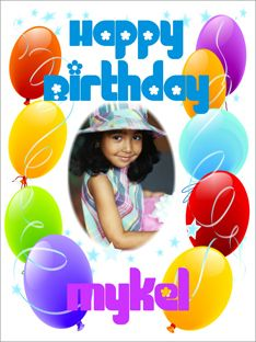 Birthday Photo Poster