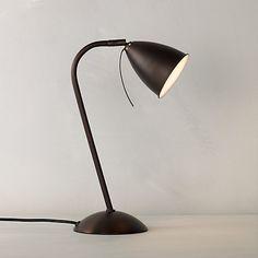 John Lewis Chelsea Task Lamp , Bronze  £40