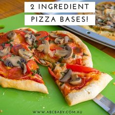 2 Ingredient Pizza And Bread Rolls Dough