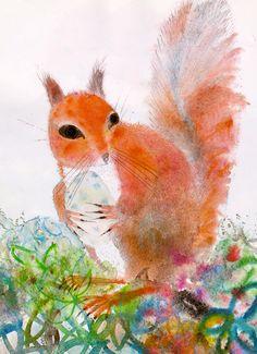 Squirrels illustrated by Brian Wildsmith (1975)
