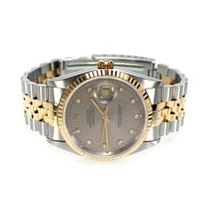 Rolex, Oyster Perpetual DateJust, Model 16233 Diamond Dial