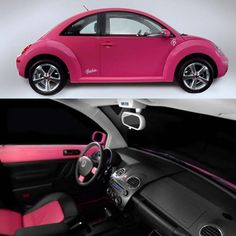 I want it but without the Barbie logo's on it. I like pink!!