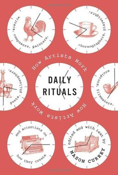 Daily Rituals: How Artists Work by Mason Currey, http://www.amazon.com/dp/0307273601/ref=cm_sw_r_pi_dp_7Ad7rb1BAA2CE