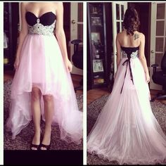 SALE!!!  Prom dress Corset, high-low dress. Dresses