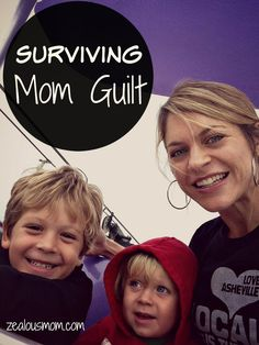 Do you struggle with mom guilt? I certainly do, but ultimately, most moms are doing their best. If nothing else, we're all a community and we totally get it. #MomsRule @Ashley Black.com