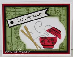 Alex's Creative Corner: Let's do lunch
