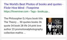 Thanks to all the love and support you give me 🙏 .  The Theory of 46 Be's is been rated and added as the best, not locally or nationally but BEST  Worldwide motivational book. Best book cover and best Quotes . Without you it will never been possible. I am humbled by your love and support. Thanks very much. Merci , asante sana, ngiyabonga and baie dankie.  #bestbooks #best #books #motivation #bestmotivationbook #bestinspirationbook #bestbookever #bookstoread #bestbooktoread #book #philosophy…