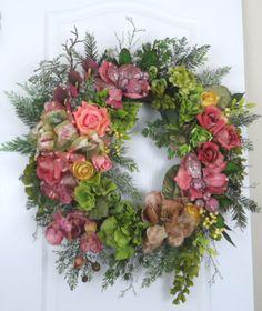 Custom Dining Room Wreath for Christmas