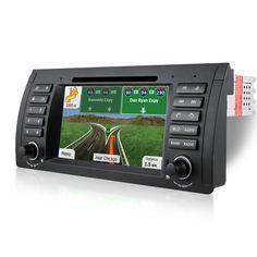 1Din 7inch Car DVD for BMW E39 E53 X5 E38 Car dvd gps with Navi car radio