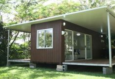 Container House - Worth their freight in gold: Are luxury SHIPPING containers the ... Who Else Wants Simple Step-By-Step Plans To Design And Build A Container Home From Scratch?