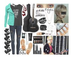 """Meeting Him"" by dalton-rapattoni-outfits-imagine ❤ liked on Polyvore featuring Michael Kors, R13, Natures Jewelry, Ancient Greek Sandals, Chanel, Torrid, NARS Cosmetics, Chico's, Doublju and Bristols6"