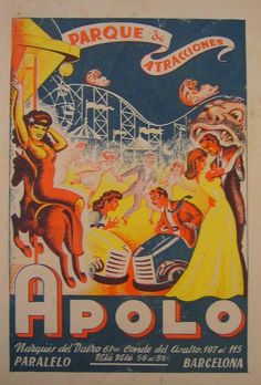 Old Spanish Circus Poster.