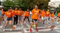 NowWeMOVE MOVE Week 2015 European FlashMOVE Dance - Flashmob