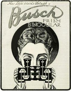 Emil Busch Optical Company ad, 1912.