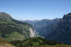 Hiking in the Swiss Alps Off the Jungfrau's Tourist Trail