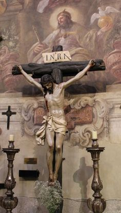 Praise the Lord Jesus Christ. When in doubt, keep my eyes on a cross, and remember how much God loves us. Jesus Our Savior, Jesus Art, Christ The King, The Cross Of Christ, Crucifixion Of Jesus, Jesus Christ Crucified, Religion, Bride Of Christ, Jesus Pictures